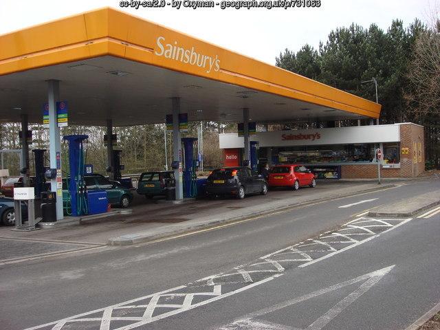 Pedestrian suffered broken bones after crash in Sainsbury's car