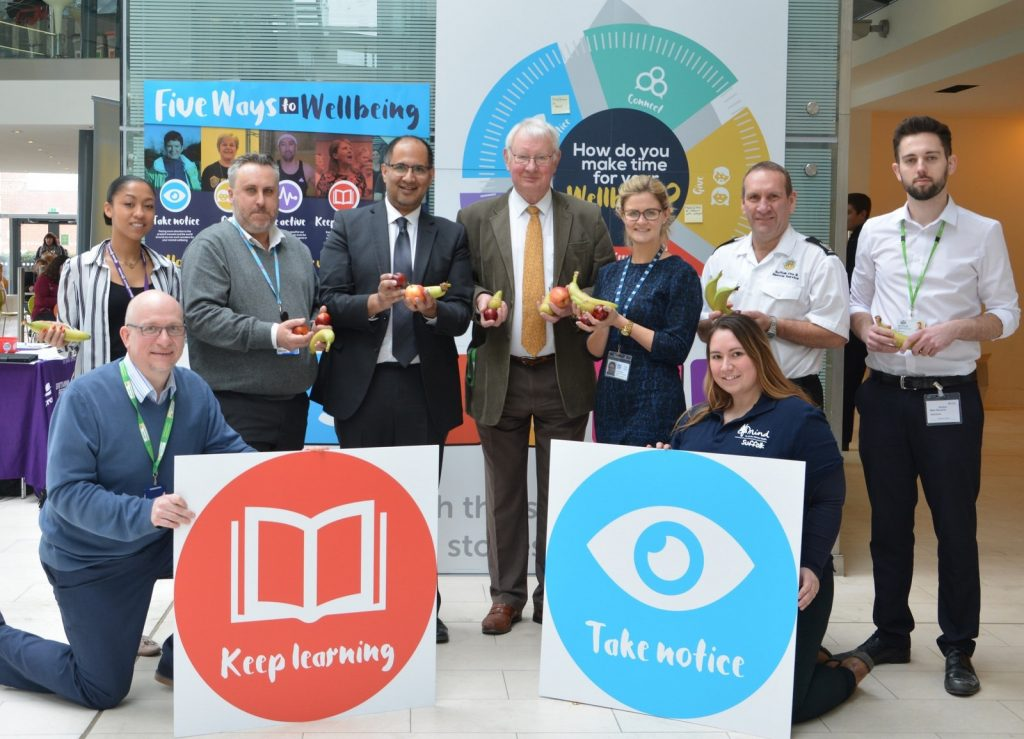 Suffolk County Council launches 'Five Ways to Wellbeing' campaign