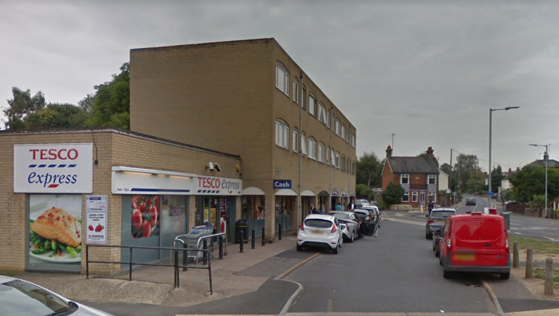 Elderly pedestrian suffers minor injuries after being hit by a car in Bury St Edmunds