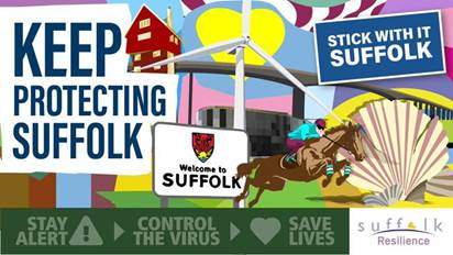 Suffolk County Council – Covid-19 daily bulletin – 22nd June