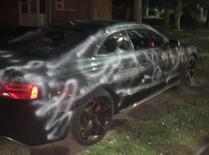 Police appeal after 24-year-olds car left devastated by vandals