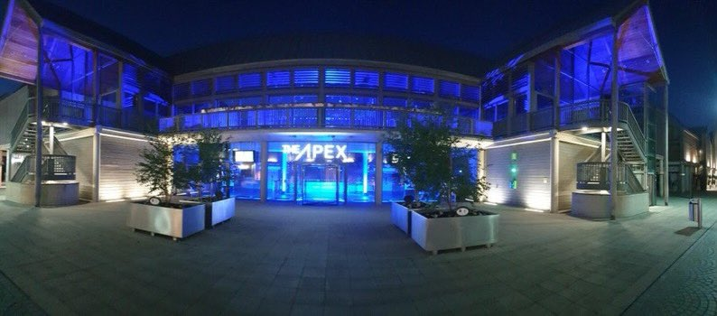 Apex to light up blue for NHS 72nd Birthday